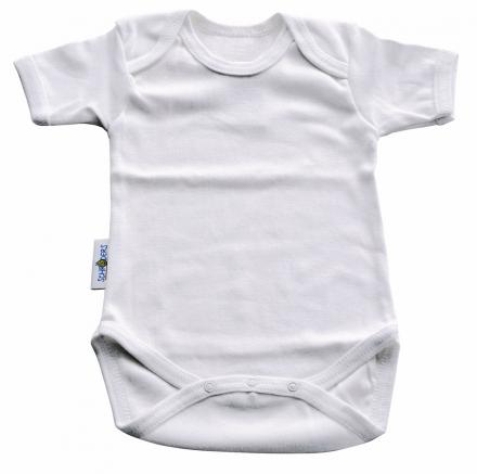 Baby Plus Schröders bodysuit 1/4 arms white