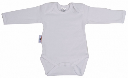 Baby Plus Schröders bodysuit 1/1 arms white