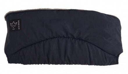 Kaiser Alaska Melange Fleece Handwärmer dunkelblau