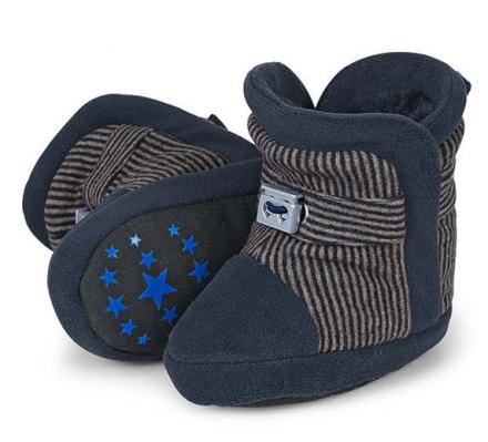 Sterntaler baby shoe stripes 19/20 navy