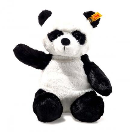 Steiff Panda Ming 28 weiß/schwarz