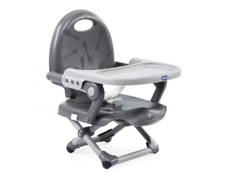 Chicco seat to take Pocket Snack dark grey