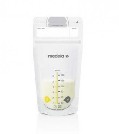 Medela Muttermilch Aufbewahrungsbeutel 25x Pack