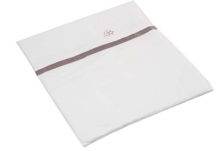 Hartan bedding with logo-embroidery 716 rosewood
