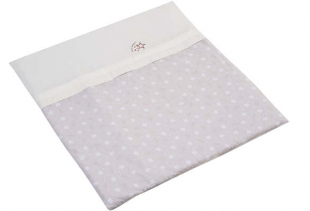 Hartan bedding with logo-embroidery 725 coffee star