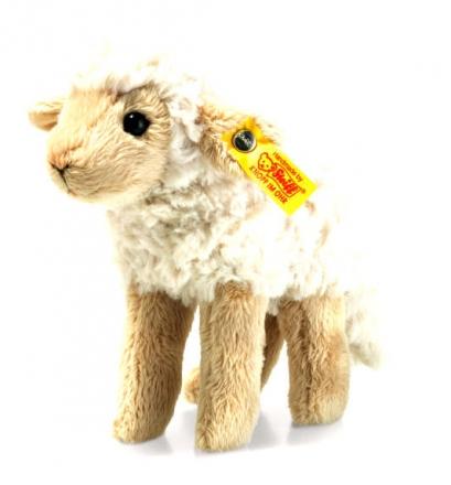 Steiff Lamm Flocky 15 creme/beige stehend