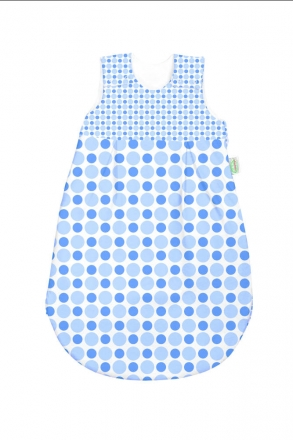 Odenwälder BabyNest newborn sleeping bag 90 cm bleu & blue