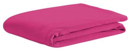 Odenwälder Spannbetttuch Jersey soft pink 70x140cm