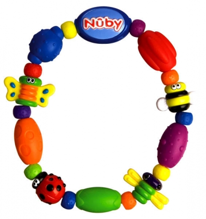 Nüby teether and grip toy