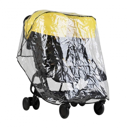Helly BS 512 Regenhaube Geschwisterwagen Regenverdeck Twin Regenschutz Kinder
