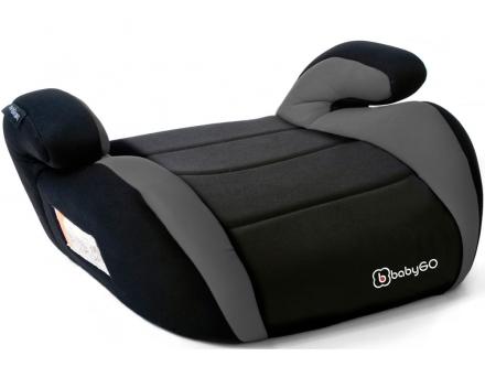 BabyGo Sitzerhöhung Booster 15-36kg grey