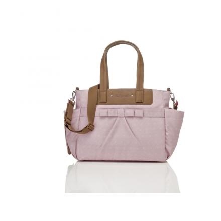 Babymel · Babymel Cara Bloom Dusty Pink Wickeltasche