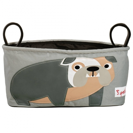 3sprouts bag for prams and strollers bulldog