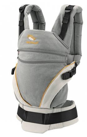 Manduca Babytrage XT grey-orange