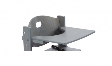 DawOst tiSsi® table for high chair grey