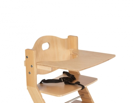 DawOst tiSsi® table for high chair nature