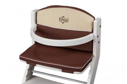 DawOst tiSsi® cushion for high chair brown