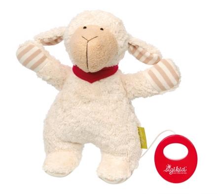 Sigikid 38887 musical toy sheep Green
