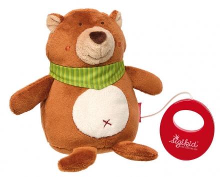 Sigikid 42132 musical toy bear
