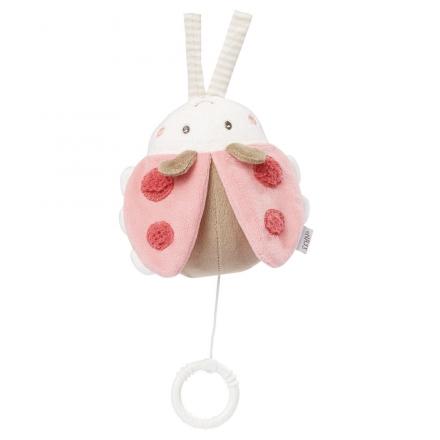 Fehn 068030 Spieluhr Käfer pink Garden Dreams