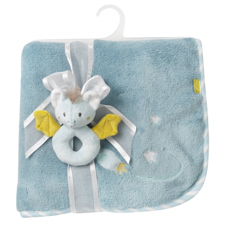 Fehn 065183 cuddle blanket bat Little Castle