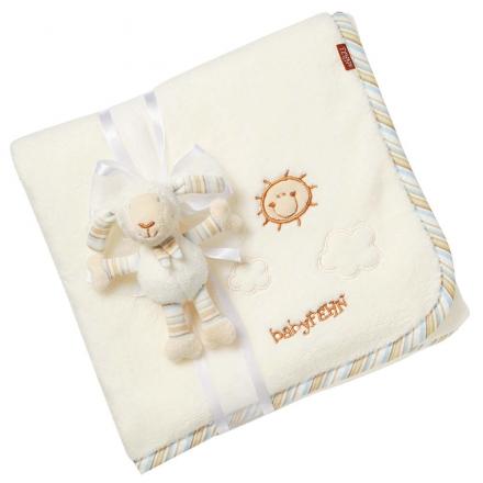 Fehn 396089 cuddle blanket sheep BabyLOVE