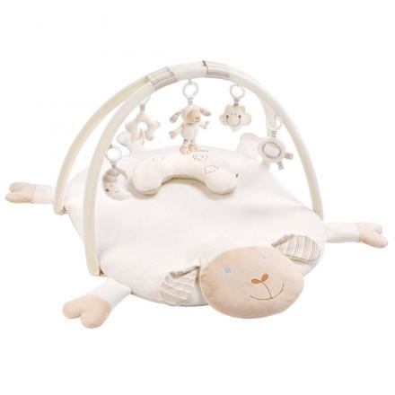 Fehn 154580 3D activity quilt with neck pillow sheep BabyLOVE