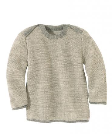 Disana Melange Jumper 62/68 grey