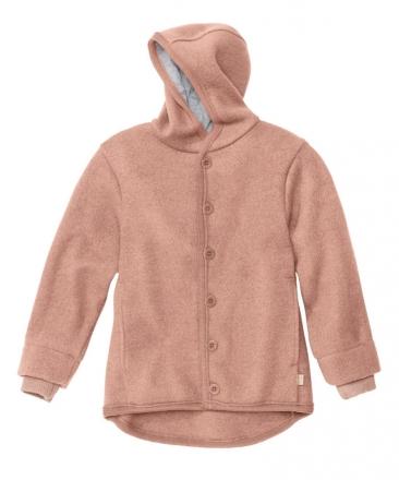 Disana boiled wool jacket 62/68 rose
