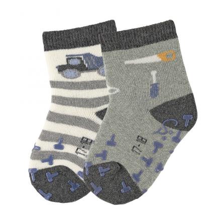 Sterntaler ABS crawling socks truck/tools