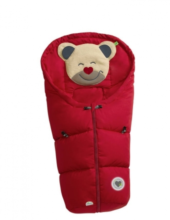 Odenwälder little footmuff Mucki classic coll. 19/20 red