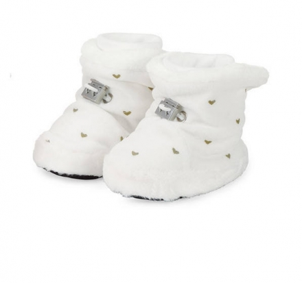 Sterntaler 5101831 baby-bootees with cord-stopper 17/18 ecru