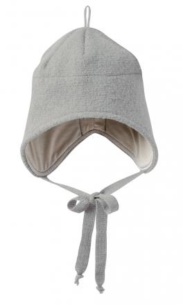 Disana boiled wool hat size 1 grey