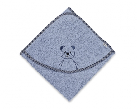 Sterntaler hooded bath towel Baylee blue 100x100