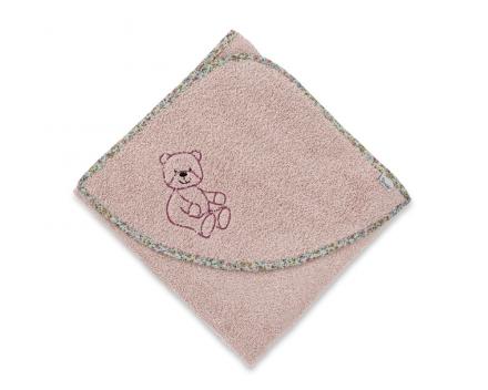 Sterntaler hooded bath towel Baylee rose 100x100