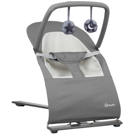 BabyGo Babywippe Fancy grey (BABYGO)