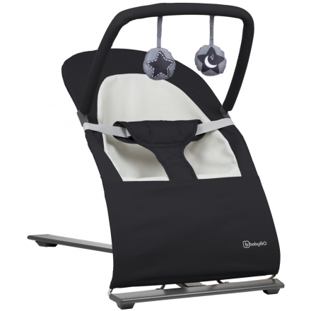 BabyGo bouncing chair Fancy black