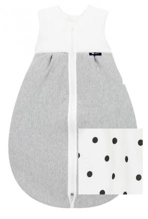 Alvi Kugelschlafsack Thermo little Dots grey 70cm