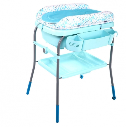Chicco Cuddle & Bubble Comfort bathing and changing combination dusty green