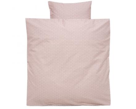 Alvi Bettwäsche Raute rosa 80x80