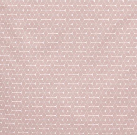 Alvi Wickelauflage Wiko Molly beschichtet Raute rosa dunkel 70x85