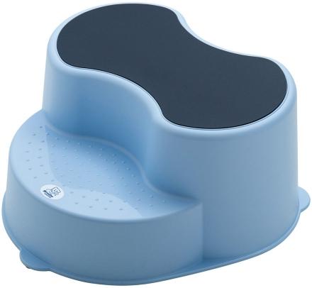 Rotho footstool Top sky blue