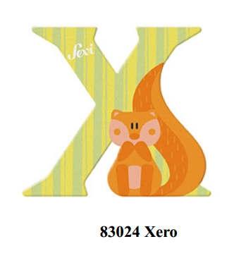 Sevi wooden letter X Xero