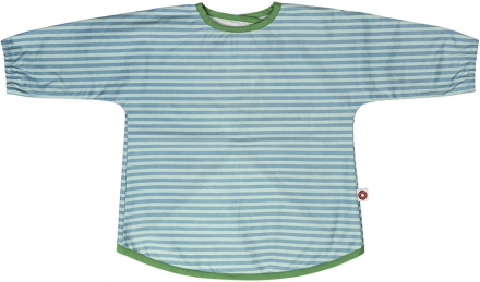 FRANCK & FISCHER Bib with sleeves blue