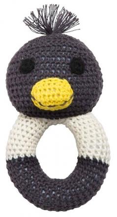 FRANCK & FISCHER Rattle penguin Pingo
