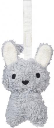 FRANCK & FISCHER Rattle bunny Louise grey
