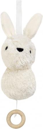 FRANCK & FISCHER Musical toy bunny Aura white