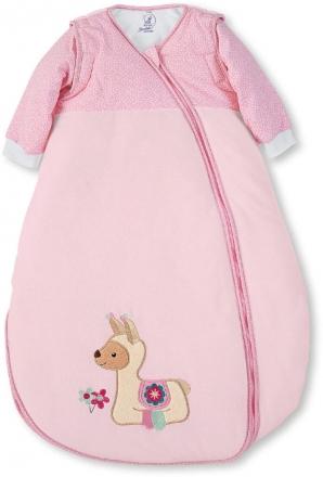 Sterntaler Sleeping bag pink Zoo 90cm