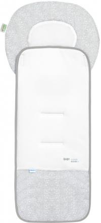 Odenwälder Babycool-pram seat inlay Coolmax silver