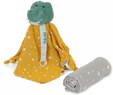 Sterntaler cuddly cloth set zoo crocodile Konrad